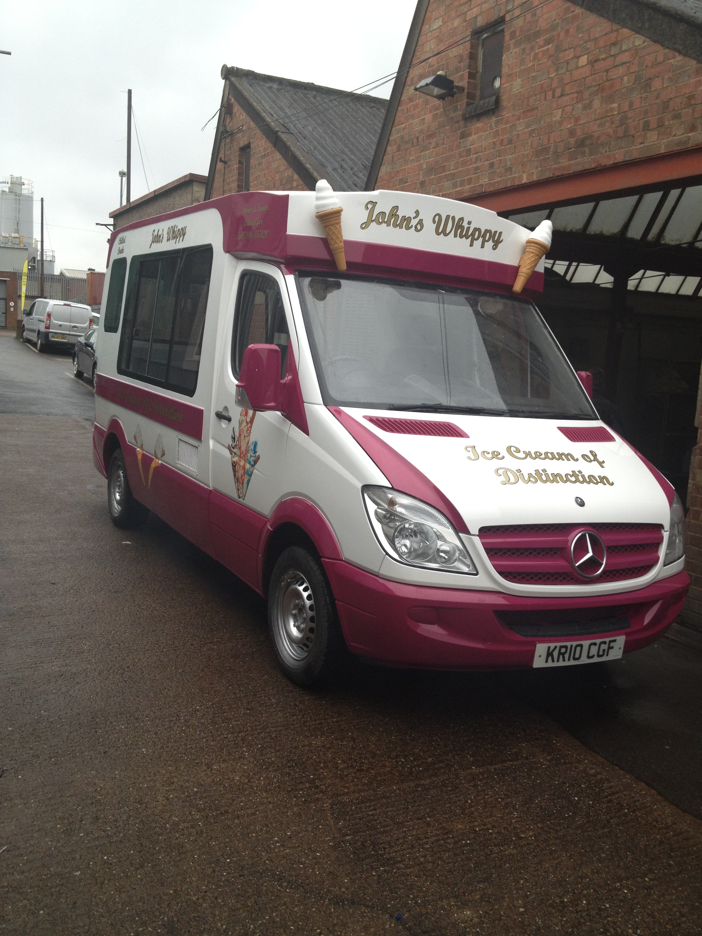 PG AR Engineering Midlands Limited Ice Cream Machine Parts And Servicing Van Repairs Conversions